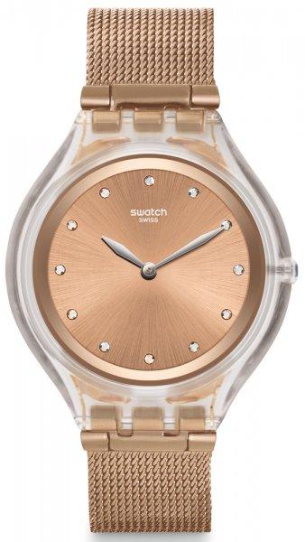 Zegarek damski Swatch skin SVUK102M - duże 1