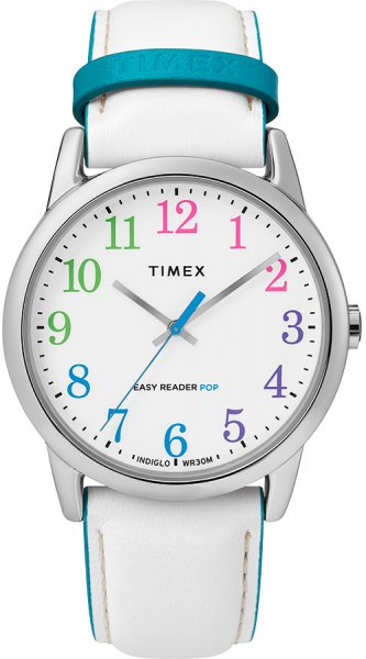 Zegarek damski Timex easy reader TW2T28400 - duże 1