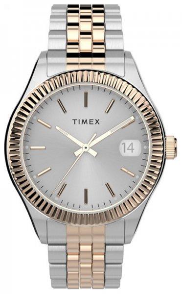 Zegarek damski Timex waterbury TW2T87000 - duże 1