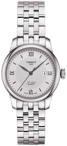 Zegarek damski Tissot le locle T006.207.11.038.00 - duże 3