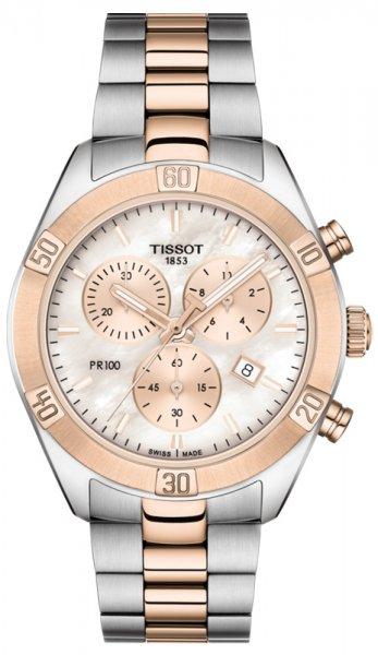 Zegarek damski Tissot pr 100 T101.917.22.151.00 - duże 3