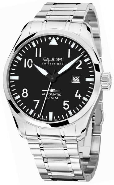 3401.132.20.35.30 - zegarek męski - duże 3