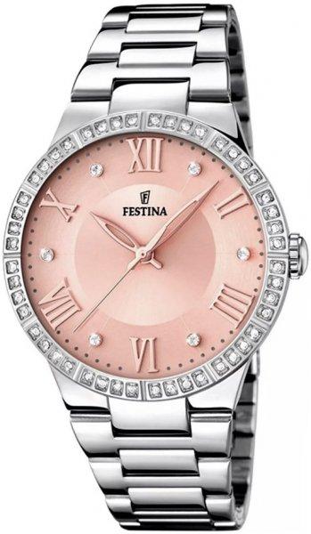 Zegarek damski Festina classic F16719-3 - duże 1
