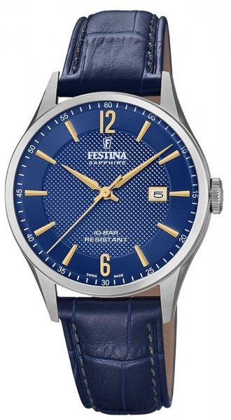 Zegarek Festina F20007-3 - duże 1