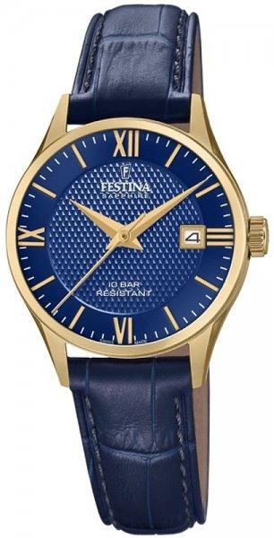 Zegarek Festina F20011-3 - duże 1