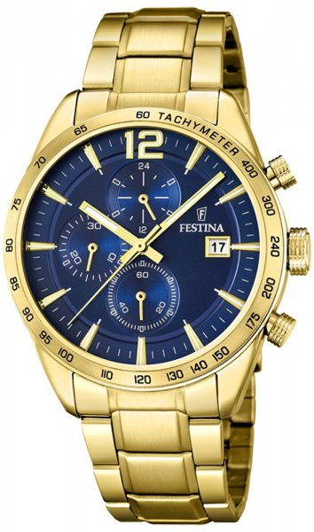 Zegarek męski Festina chronograf F20266-2 - duże 1