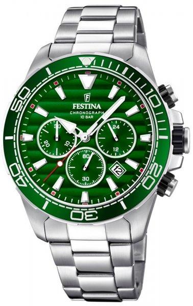 Zegarek męski Festina chronograf F20361-5 - duże 3