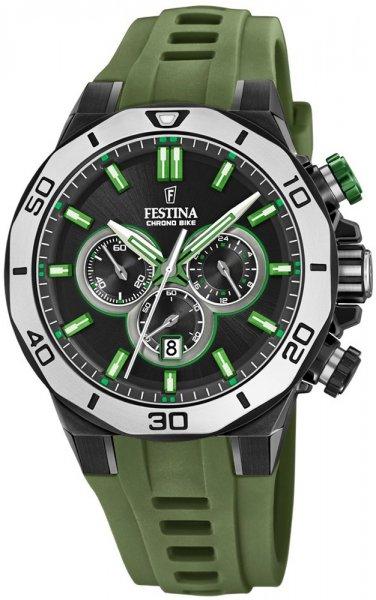 F20450-4 - zegarek męski - duże 3