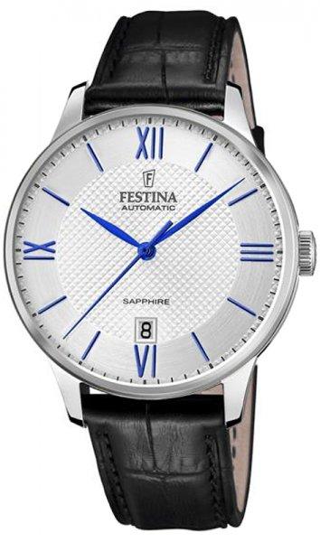 Zegarek męski Festina classic F20484-1 - duże 1