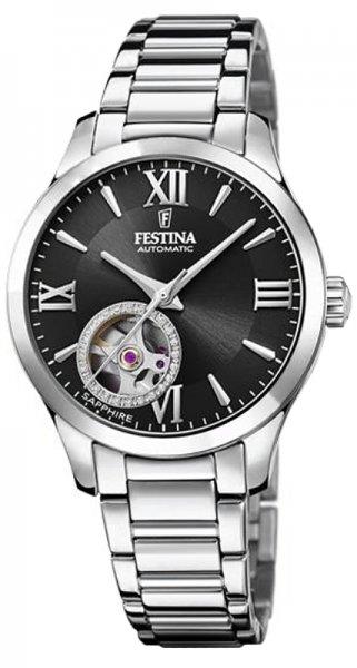 Festina F20488-2 Classic Open Heart Automatic