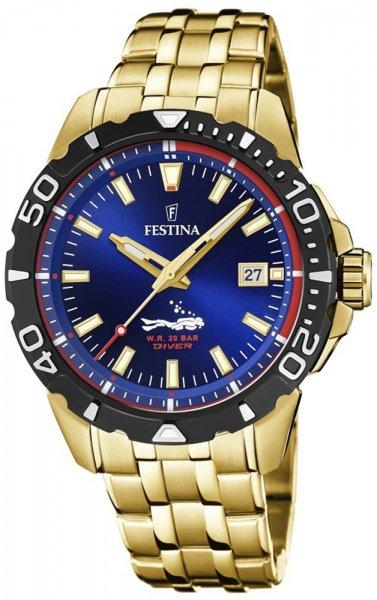 F20500-2 - zegarek męski - duże 3
