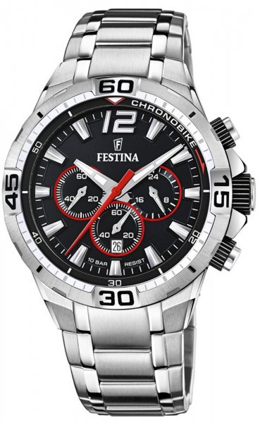F20522-6 - zegarek męski - duże 3