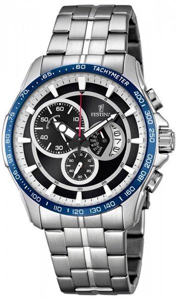 F6850-1 - zegarek męski - duże 3