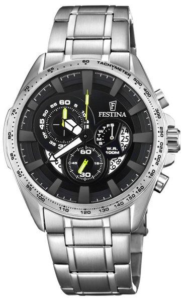 F6864-6 - zegarek męski - duże 3