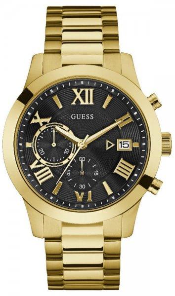 Zegarek męski Guess bransoleta W0668G8 - duże 1