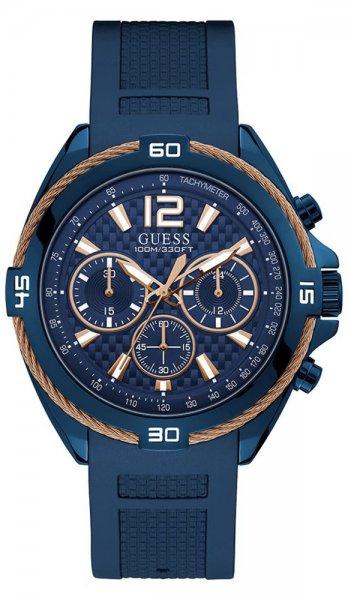 Zegarek męski Guess męskie W1168G4 - duże 1