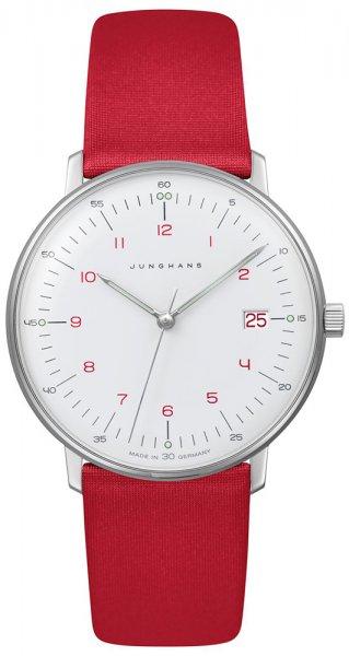 Zegarek damski Junghans max bill 047/4541.04 - duże 1