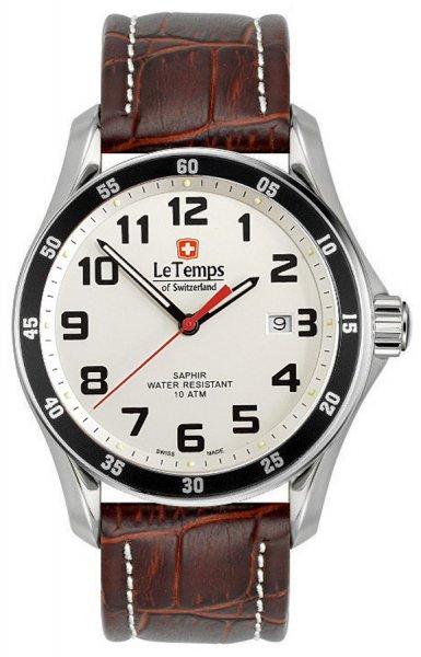 Zegarek Le Temps  LT1078.02BL02 - duże 1