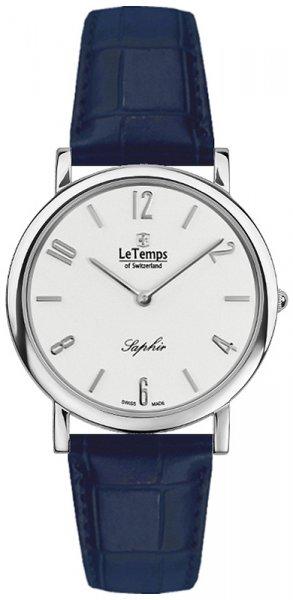 Zegarek Le Temps LT1085.01BL03 - duże 1