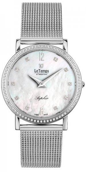 Zegarek Le Temps LT1086.05BS01 - duże 1