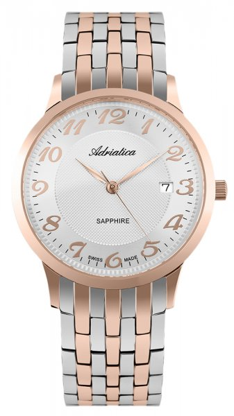 Zegarek męski Adriatica bransoleta A1268.R123Q - duże 3