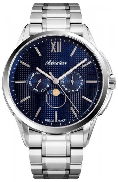 Zegarek męski Adriatica bransoleta A8283.5115QF - duże 3