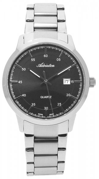 Zegarek męski Adriatica bransoleta A8302.5116Q - duże 1
