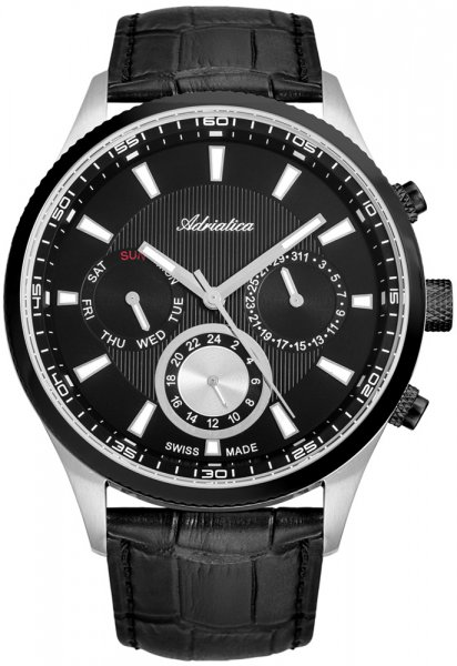 Zegarek Adriatica A8149.Y214QFN - duże 1