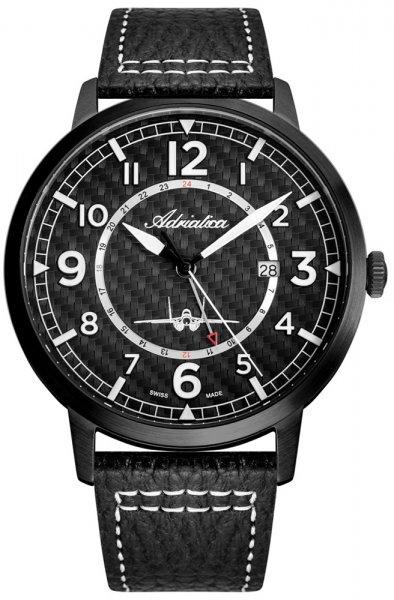 Zegarek Adriatica Aviation - męski - duże 3