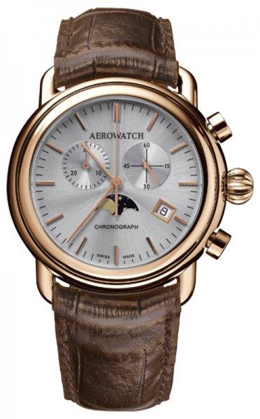 Aerowatch 84934-RO06 1942 1942 CHRONO MOON PHASES