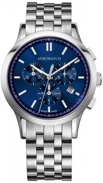 Aerowatch 83966-AA06-M Les Grandes Classiques LES GRANDES CLASSIQUES PILOTE