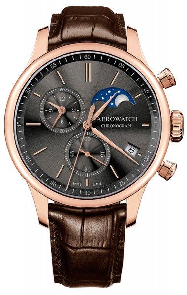 Aerowatch 78986-RO02 Renaissance RENAISSANCE CHRONO MOON PHASES