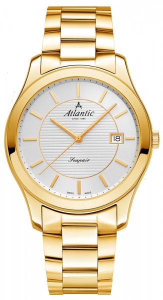 Zegarek męski Atlantic seapair 60335.45.21 - duże 1