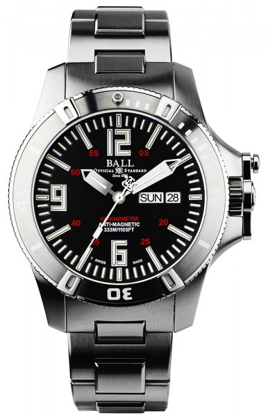 DM2036A-SCA-BK - zegarek męski - duże 3