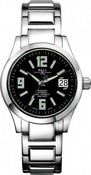 NM1020C-S4-BK - zegarek męski - duże 3