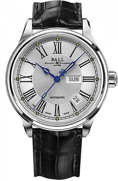 NM1058D-L4J-WH - zegarek męski - duże 3