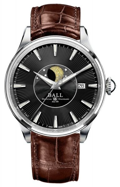 NM3082D-LLJ-BK - zegarek męski - duże 3