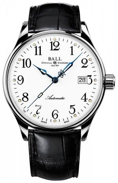 NM3288D-LLJ-WH - zegarek męski - duże 3