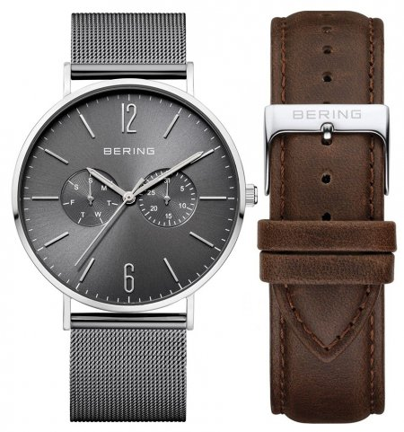 Zegarek męski Bering classic 14240-309 - duże 1