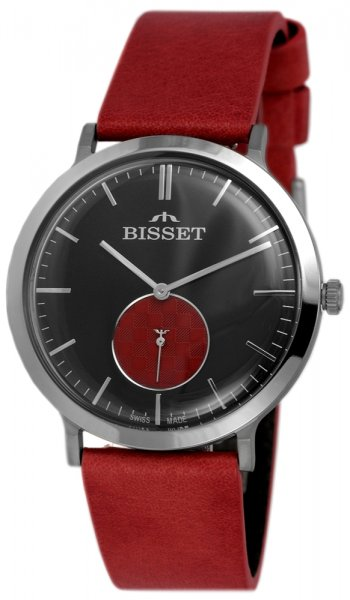 Zegarek męski Bisset klasyczne BSCF15DIBR03BX - duże 3