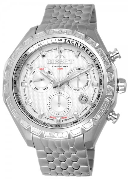 Zegarek Bisset BSDF13SISX10AX - duże 1
