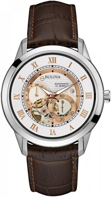 Zegarek Bulova 96A172 - duże 1
