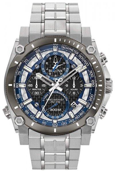 Zegarek męski Bulova precisionist 98B316 - duże 1