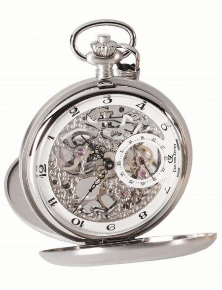 CVZ0039WH - zegarek męski - duże 3