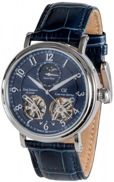 Zegarek Carl von Zeyten CVZ0054BL/SZAF - duże 1