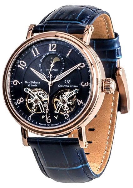 Zegarek męski Carl von Zeyten murg CVZ0054RBL - duże 1
