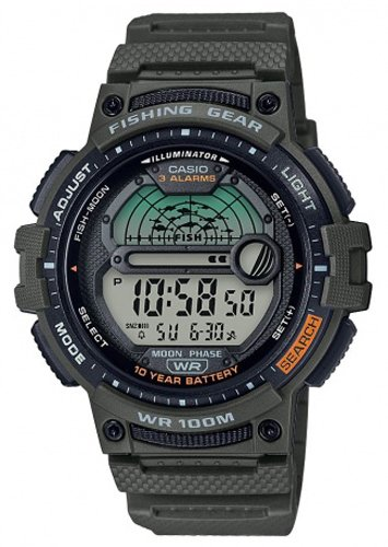 Zegarek męski Casio casio WS-1200H-3AVEF - duże 1