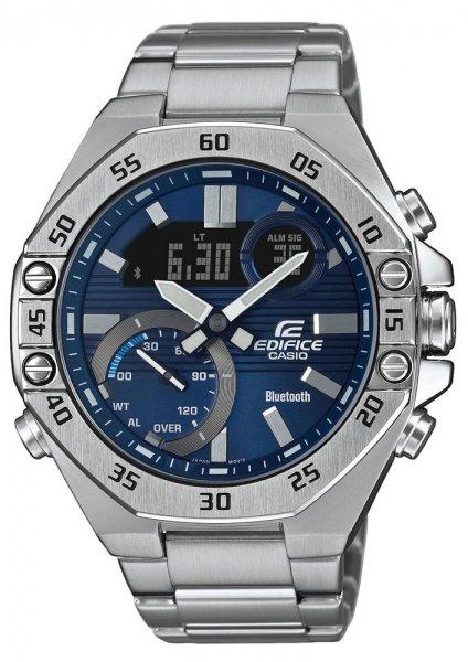 ECB-10D-2AEF - zegarek męski - duże 3