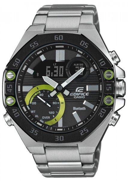 Zegarek Casio EDIFICE ECB-10DB-1AEF - duże 1