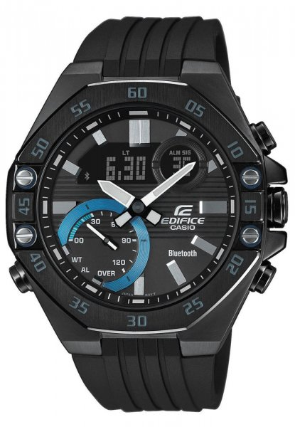 Zegarek Casio EDIFICE ECB-10PB-1AEF - duże 1